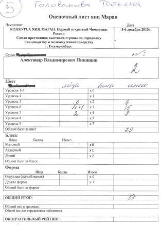 Татьяна Голованова MCR