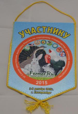 Вымпелы для всех участников «КОНКУРСА ЯИЦ МАРАН», Первый открытый Чемпионат России.